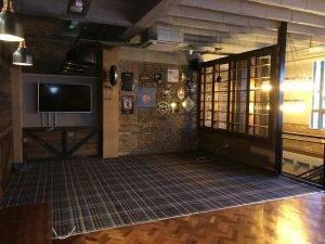 dance floor in pub